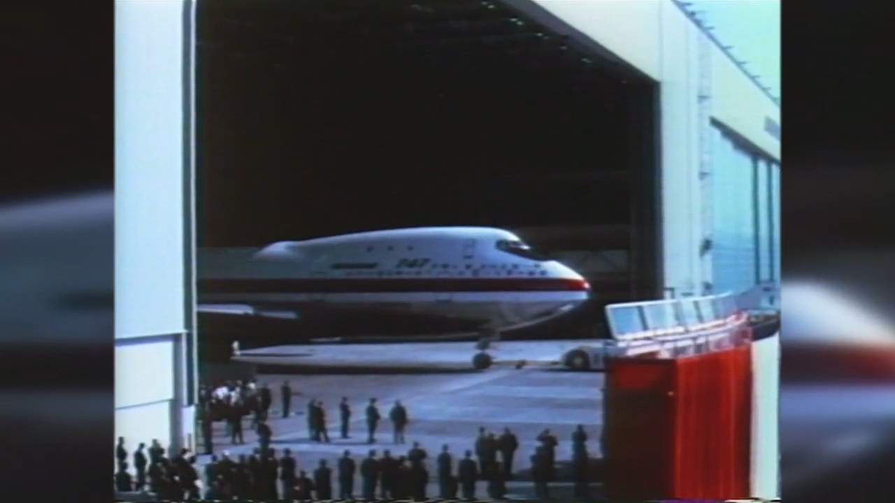 Boeing rolled out the 747 in 1968.<p></p>