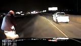Released dash-cam footage shows officer-involved shootings on I-15 that hit bystanders