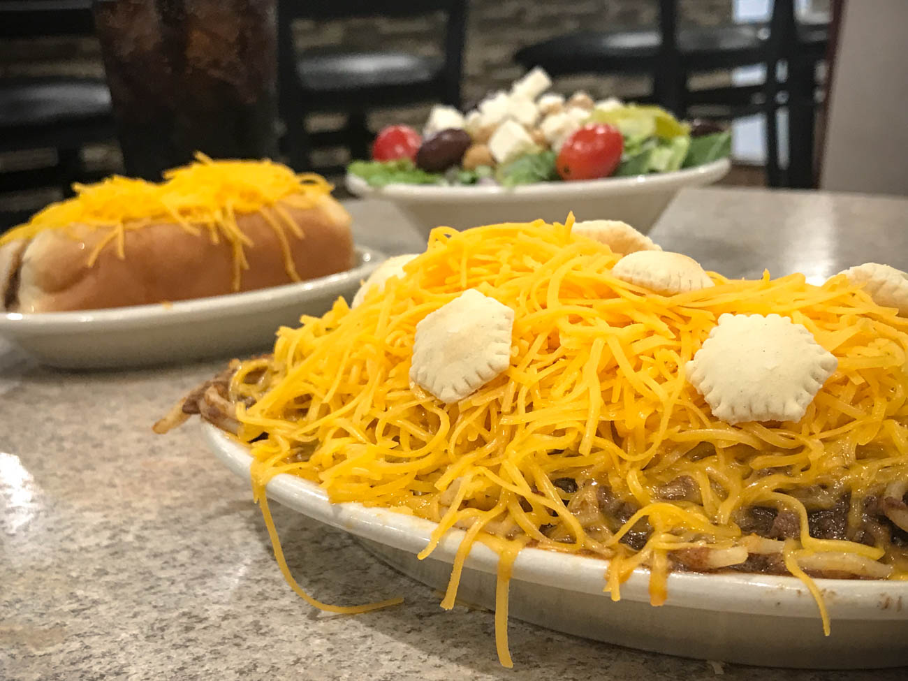 If you're from the area, chances are you've enjoyed a delicious Skyline Cheese Coney or 3-Way at some point in your life (and hopefully loved it as much as we do). But Skyline Chili can be found in way more cities than those in our Tri-State area. / Image: Katie Robinson, Cincinnati Refined // Published: 11.18.18