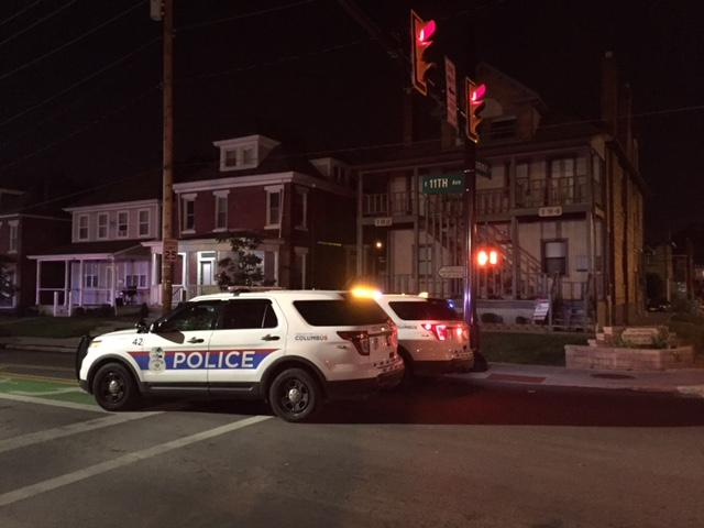 Columbus police found a man shot inside an apartment building at 165 E. 11th Avenue late Sunday night. (WSYX  / WTTE)