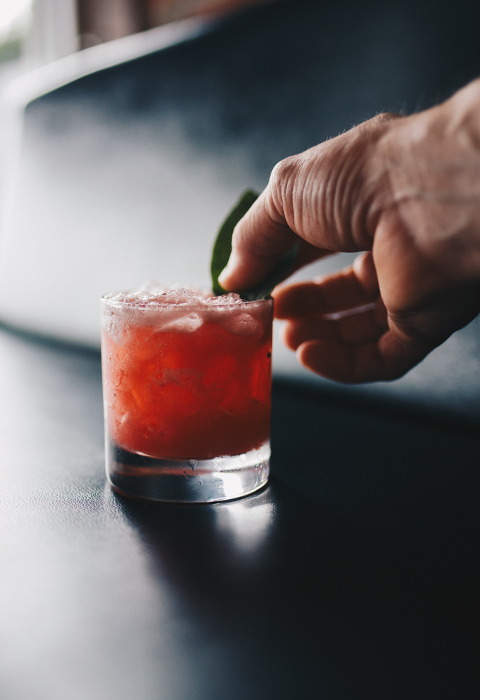 Blackberry Tequila Fashioned / Image: Catherine Viox // Published: 10.17.18