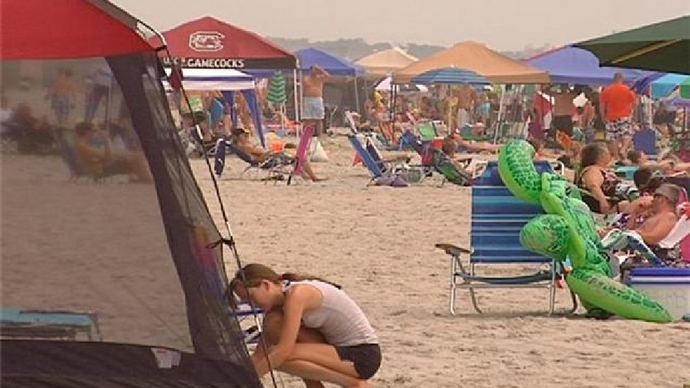 No more tents on the beach in North Myrtle Beach in the summer. by April Baker & No more tents on the beach in North Myrtle Beach in the summer | WPDE