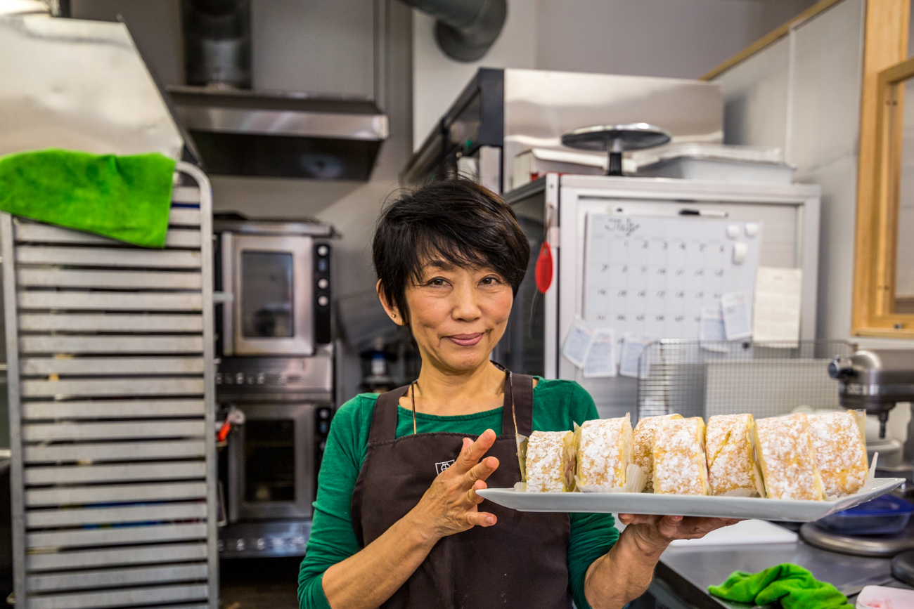 "Hisako ""Chako"" Okawa , owner and chef / Image: Catherine Viox{&nbsp;}// Published: 8.5.19<p></p>"