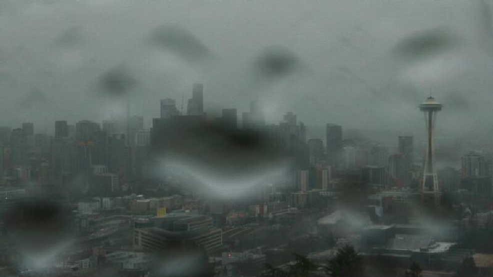 Seattle weather forecaster uses poetry in attempt to break soggy 'curse'