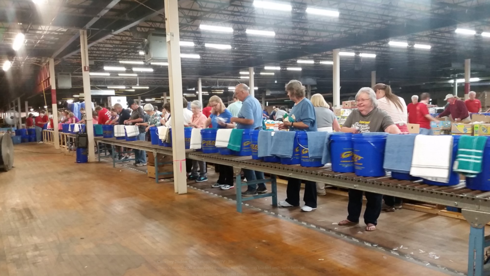 Thousands of god 39 s pit crew blessing buckets ready for for Davis motors danville va
