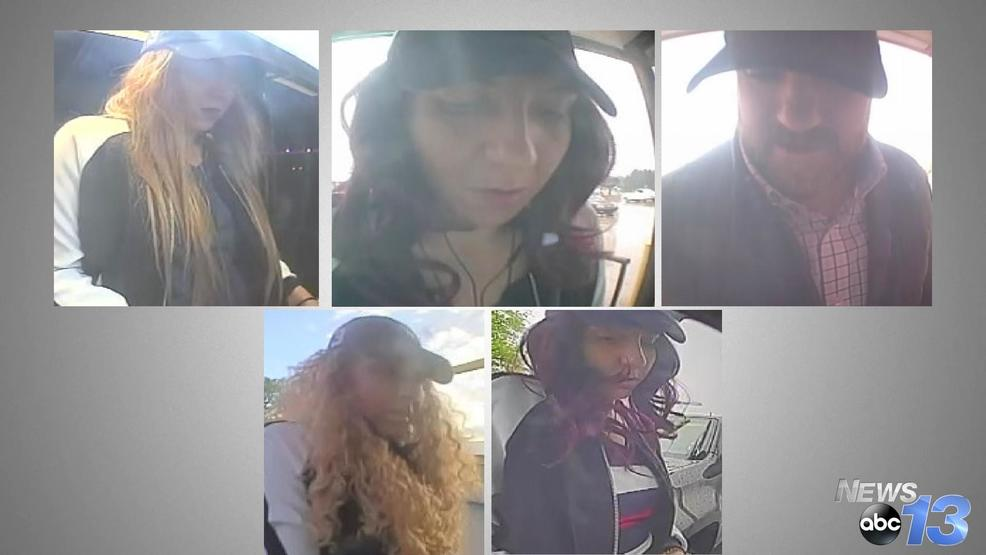 Asheville Police searching for credit card fraud suspects
