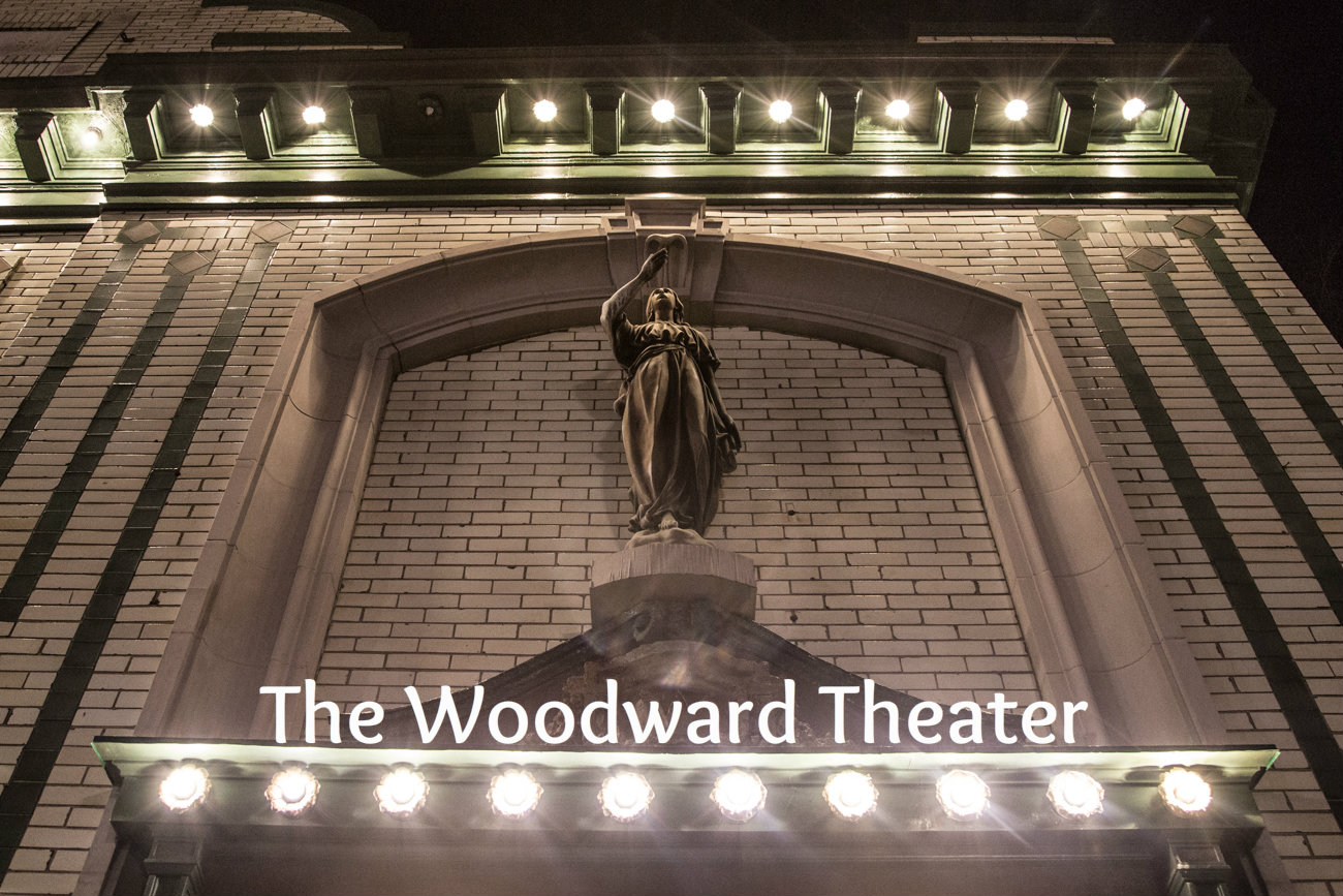 The Woodward Theater / ADDRESS: 1404 Main St, Cincinnati, OH 45202 / Image: Catherine Viox // Published: 3.23.17