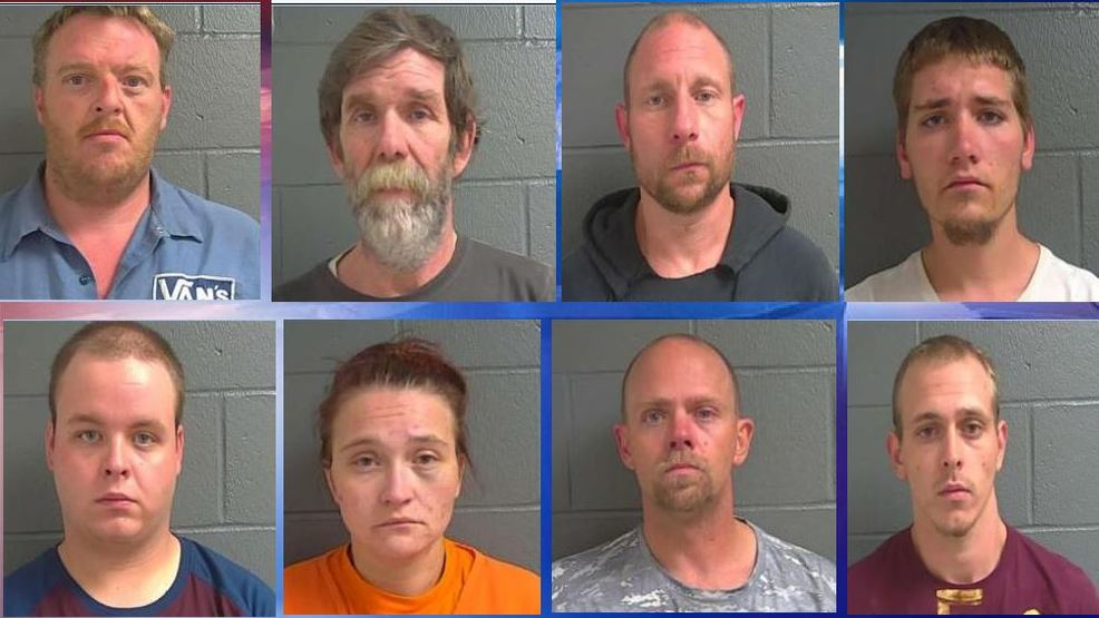 Deputies raid Callaway County home, arrest eight for drug related