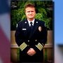 Hundreds line procession route to honor Lynden fire chief