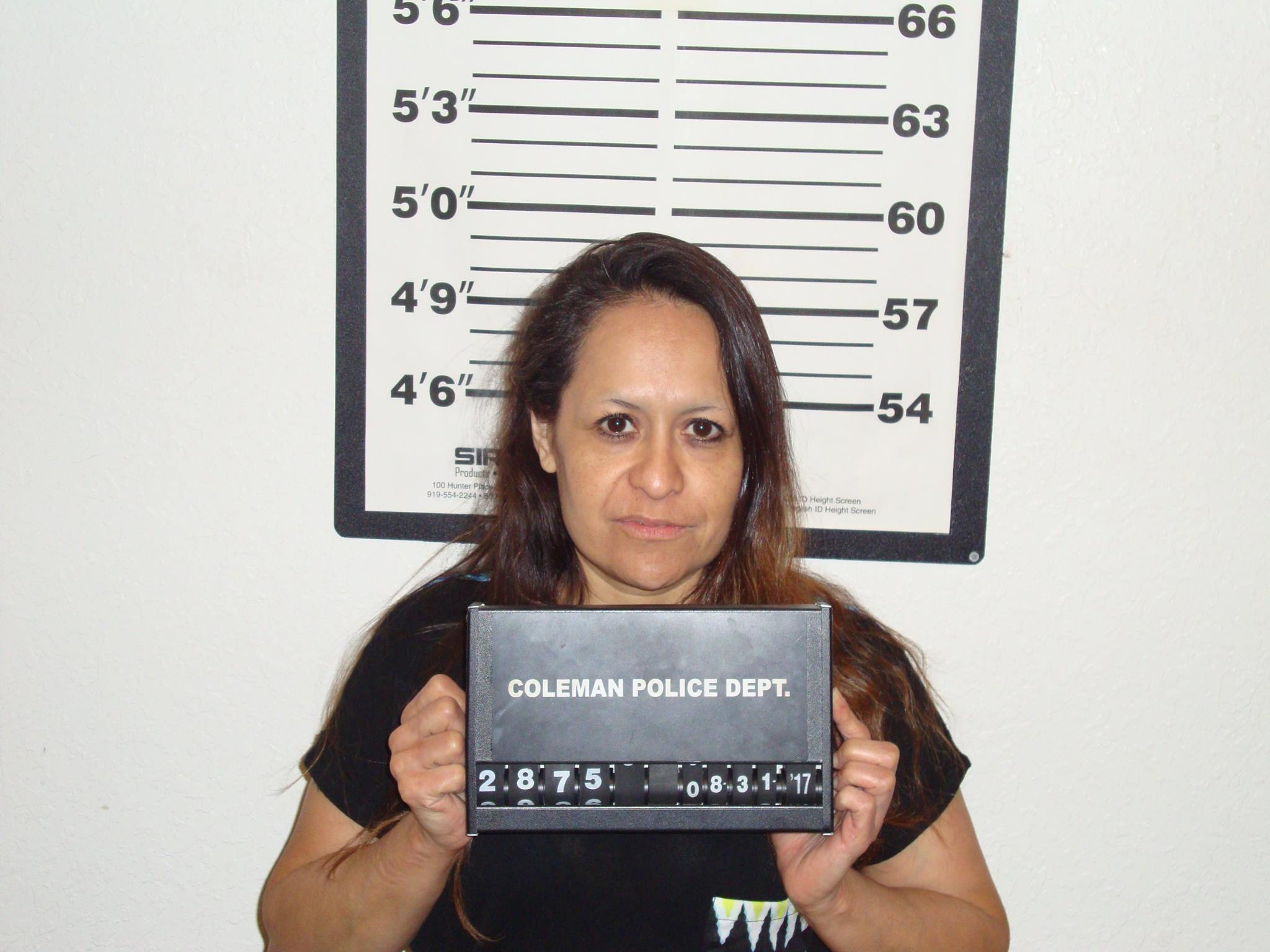 Rhonda Kay Rosales,Â?45,Â?arrested in Coleman for reportedly having meth