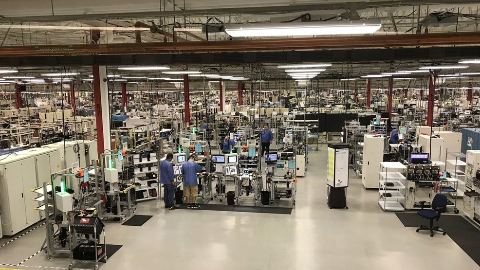 A rare look inside Harris Corp  in Rochester | WUHF