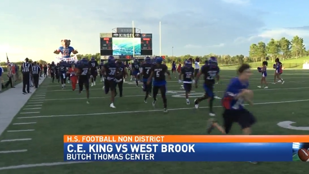 H S Football Non District West Brook 48 C E King 9 Kbtv