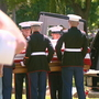 Funeral held for Menasha Marine killed in WWII