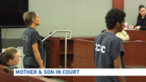 Mother, son plead not guilty in death of local football star