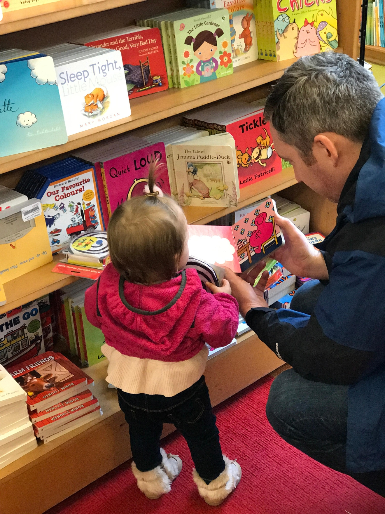 Explore the kids area at Powell City of Books, our Junie loved it!                                          (Image: Kate Neidigh)