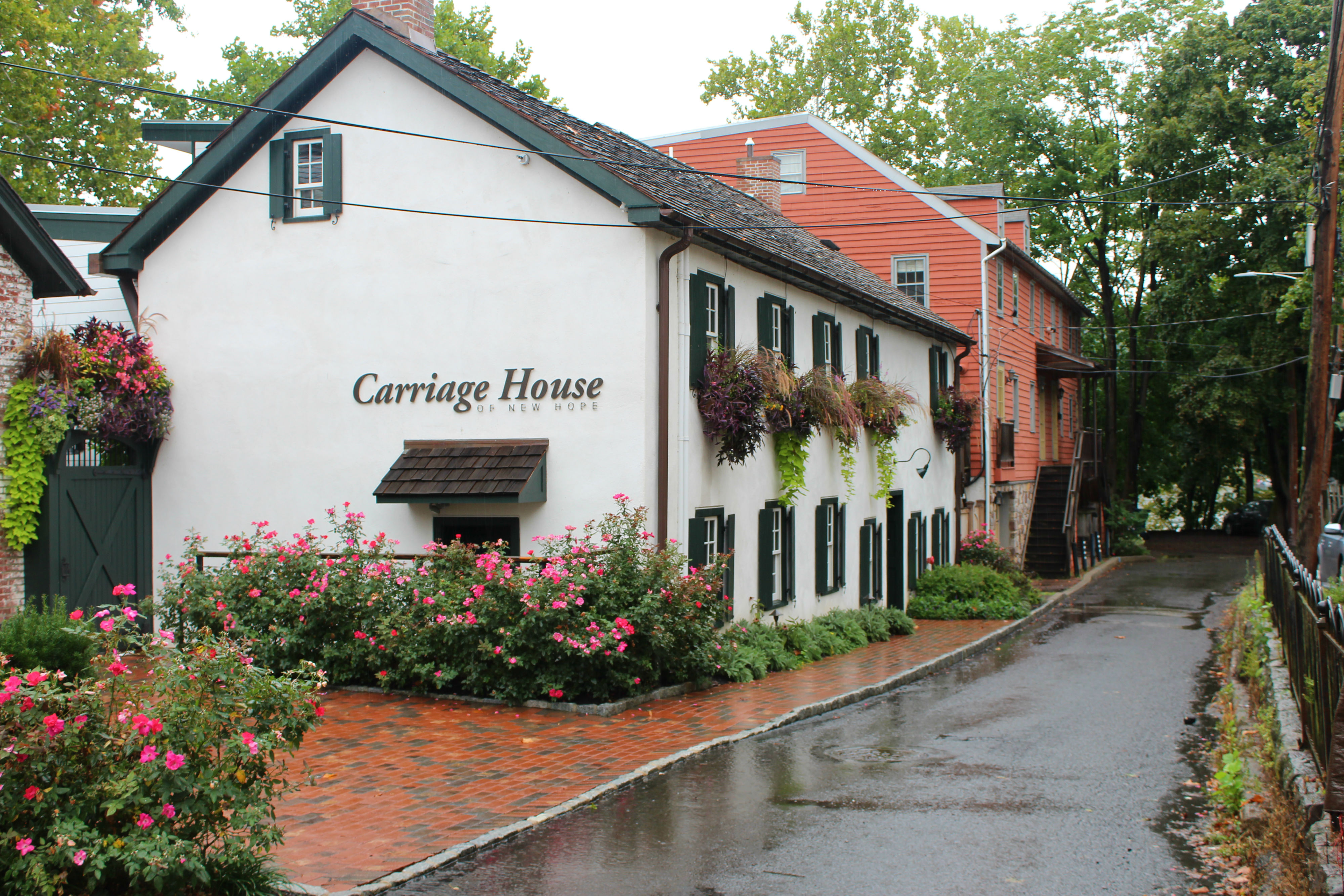 Stay at one of the three rooms in the Carriage House in New Hope,{ } which is now a mix between a B&B and a hotel.{ }(Image: Julie Gallagher)