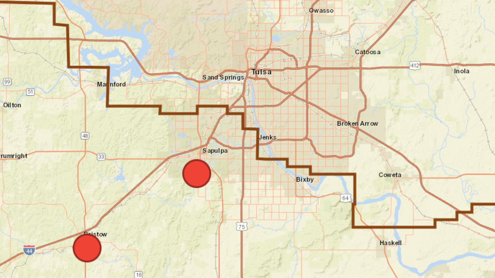 OG&E: Power restored to Bristow, Sapulpa areas after outages | KTUL