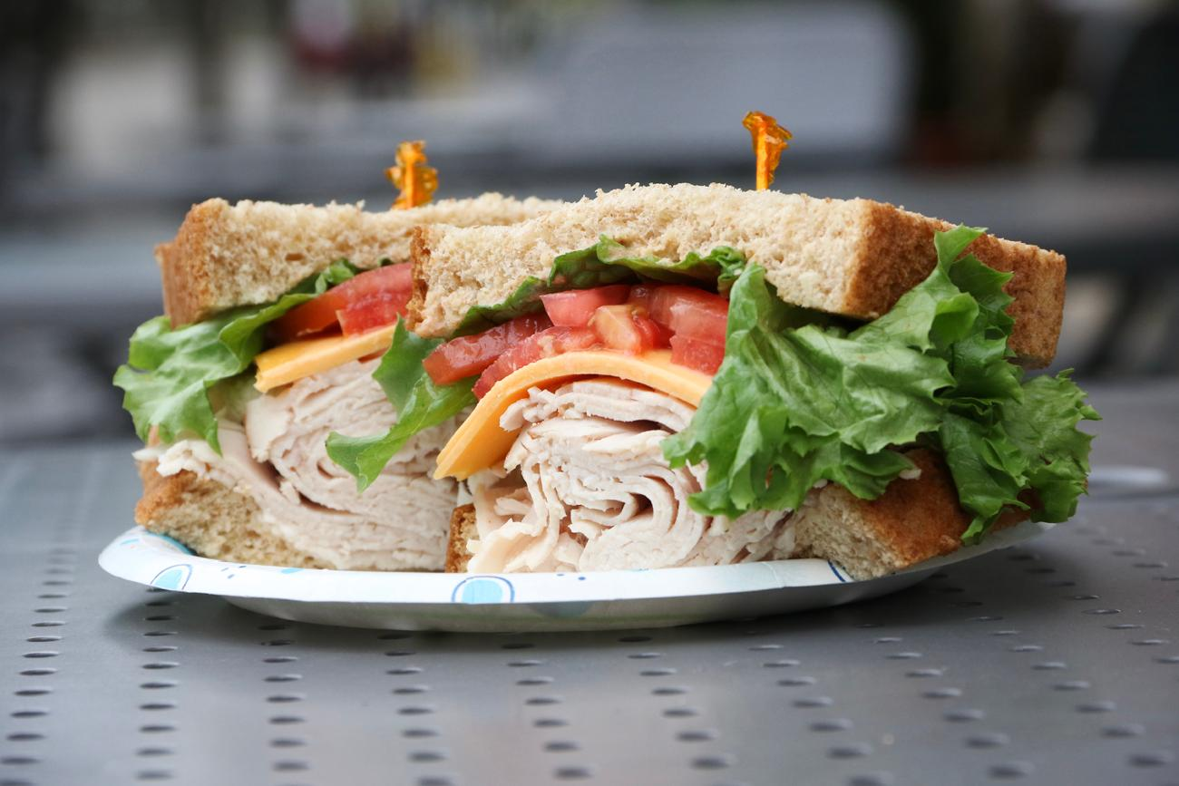 Turkey sandwich / Image: Ronny Salerno // Published: 4.25.19