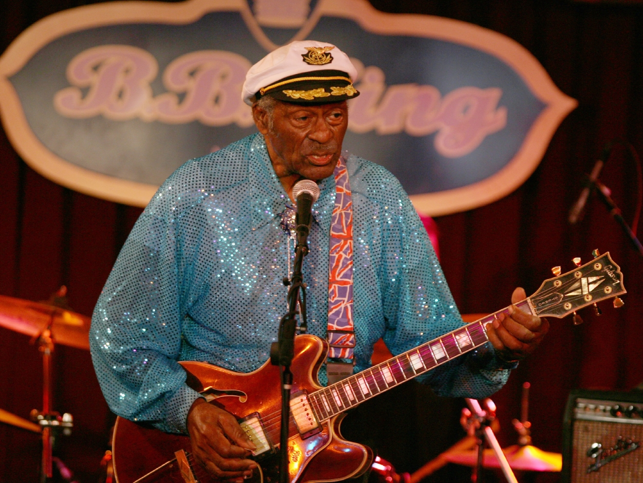 B.B. King's presents Chuck berry in concert  Featuring: B.B. King's presents Chuck berry in concert Where: New York City, NY, United States When: 12 Sep 2009 Credit: WENN
