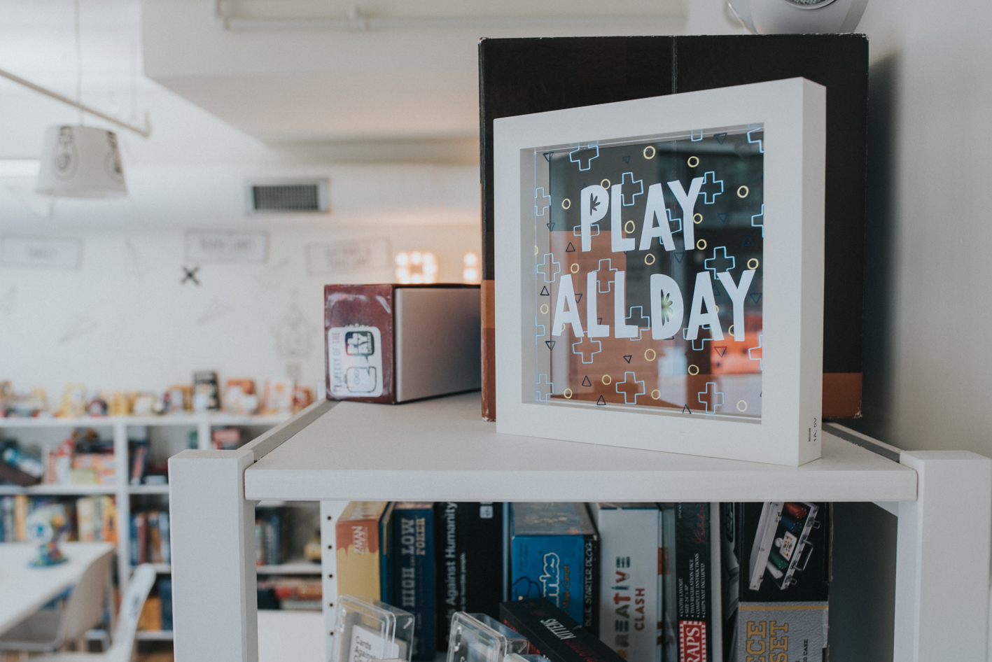 Play Library in OTR has a wide assortment of entertainment for both adults and children alike. It features hundreds of games and toys that you can rent out just as you would books at a library. As a bonus, Cincinnati's first toy history museum is located on site. ADDRESS: 1517 Elm St (45202) / Image: Brianna Long // Published 6.29.17