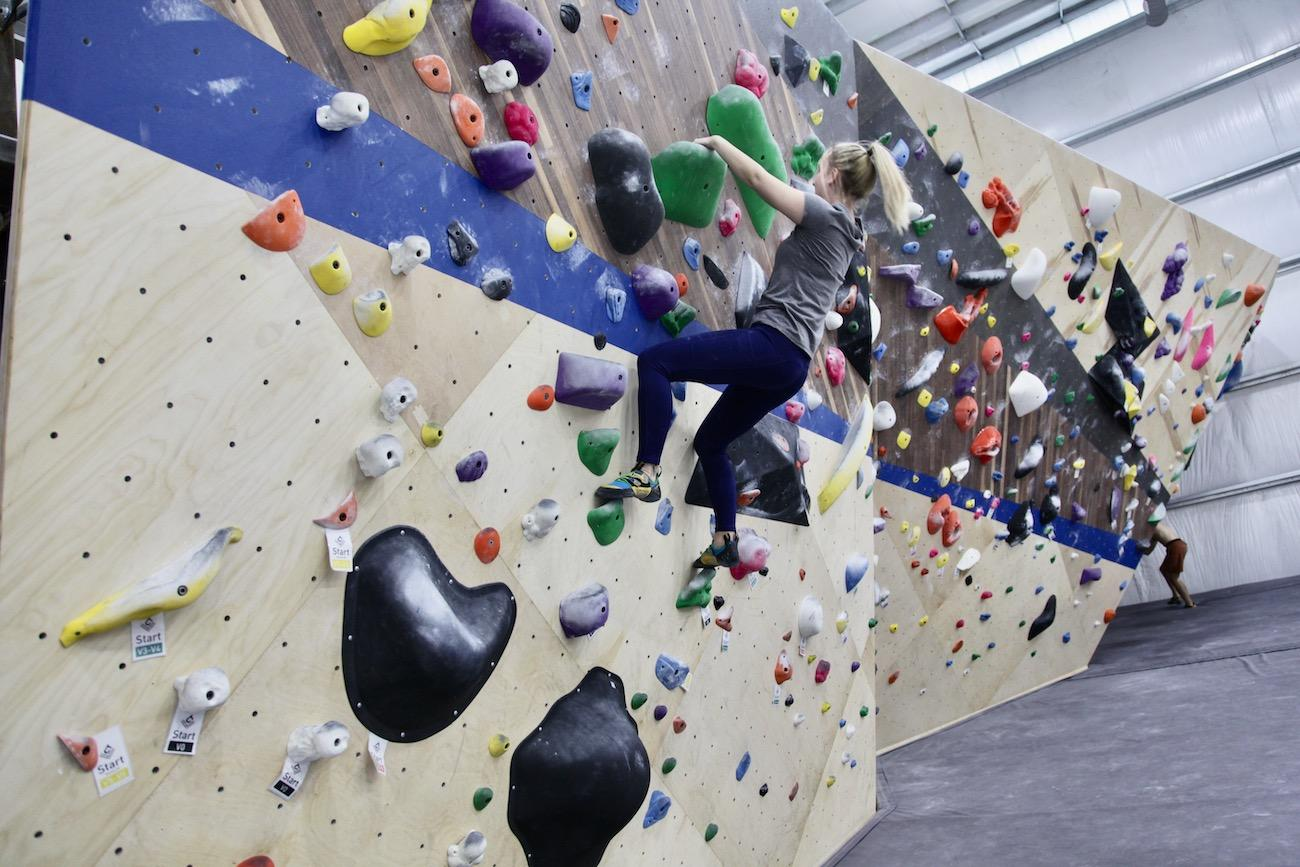 There are family memberships as well as daily, monthly, and annual memberships for individuals and couples. Climb Time also accommodates parties and even overnights, as well as workshops for youth groups. / Image: Chez Chesak // Published: 2.1.20{ }