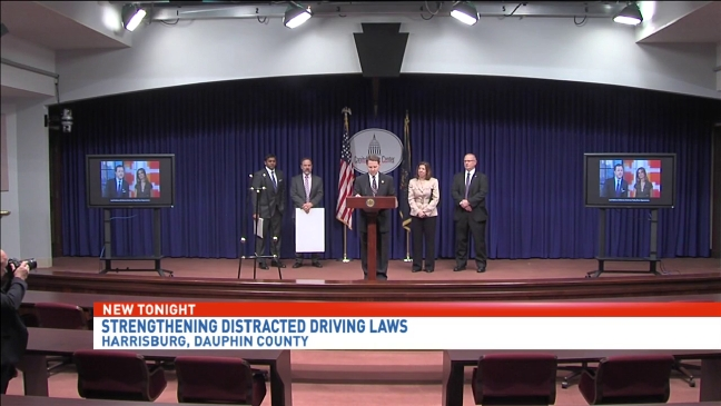 Lawmakers call for stronger distracted driving laws