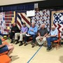 Veterans receive handmade gift at quilt show