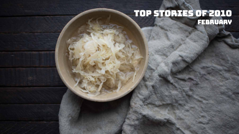 Doctor: 2 ounces of homemade sauerkraut has more probiotics than 100 probiotic capsules