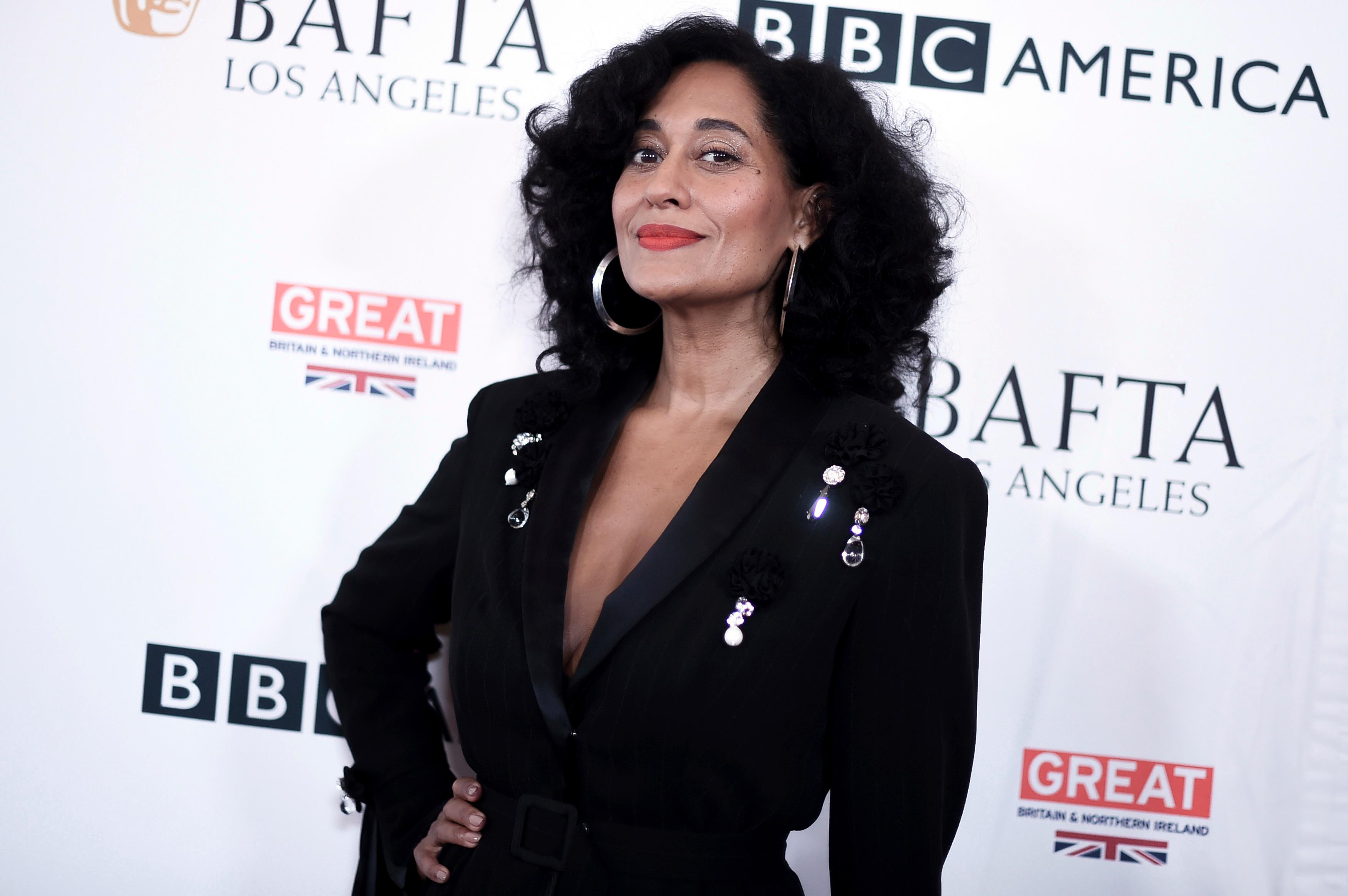 FILE - In this Sept. 16, 2017, file photo, Tracee Ellis Ross attends the BAFTA Los Angeles TV Tea Party at the Beverly Hilton Hotel in Beverly Hills, Calif. (Photo by Richard Shotwell/Invision/AP, File)