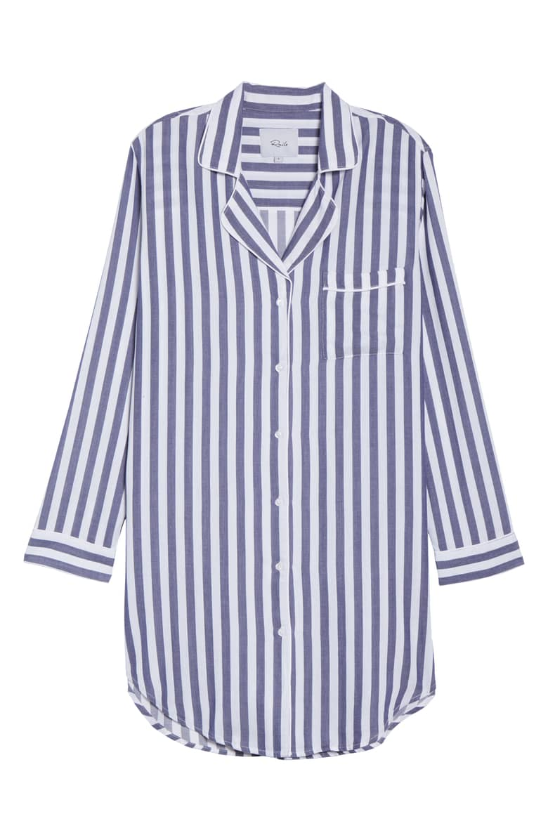 Rails Striped Sleep Shirt, $158.{ }Give the special lady in your life a gift to help her shine. Nordstroms helped us shop for a standout gift she'll love! (Image courtesy of Nordstrom).
