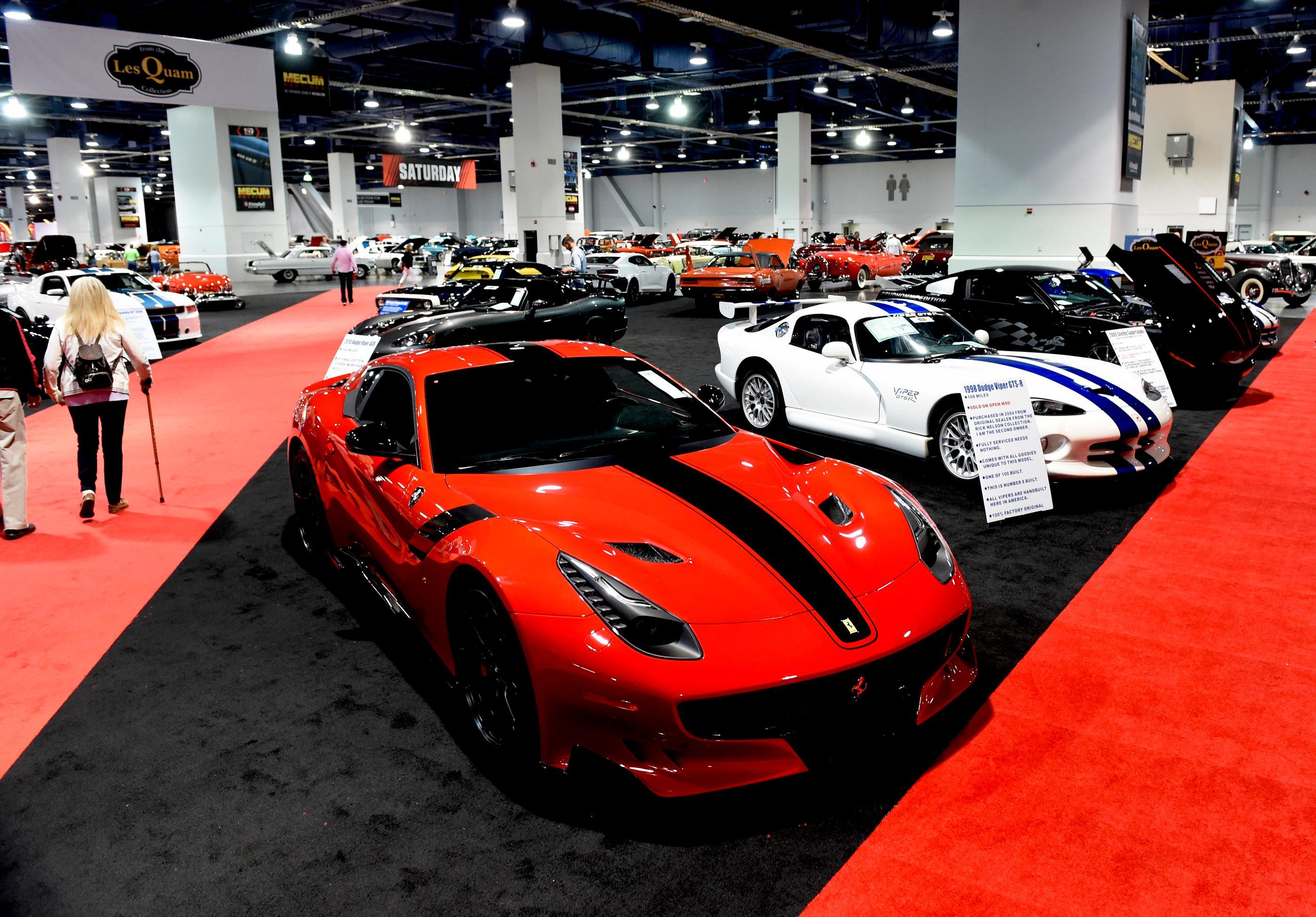 GALLERY | Mecum Car Auction at the Las Vegas Convention Center | KSNV