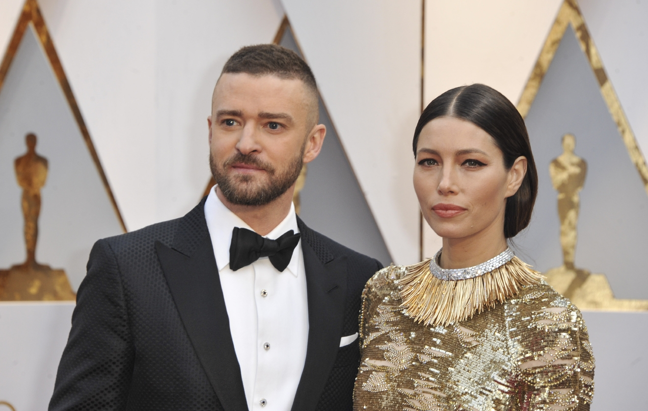The 89th Annual Academy Awards Arrivals  Featuring: Jessica Biel, Justin Timberlake Where: Los Angeles, California, United States When: 27 Feb 2017 Credit: Apega/WENN.com