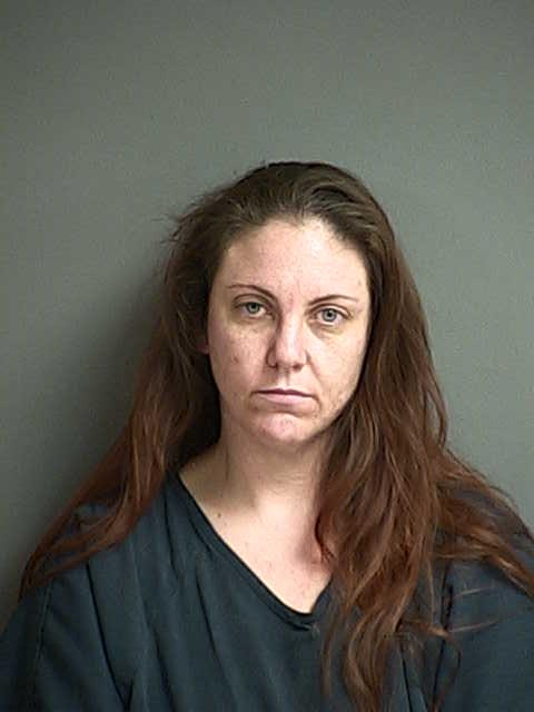 Amy S. Meyer (Douglas County Sheriff's Office booking photo)