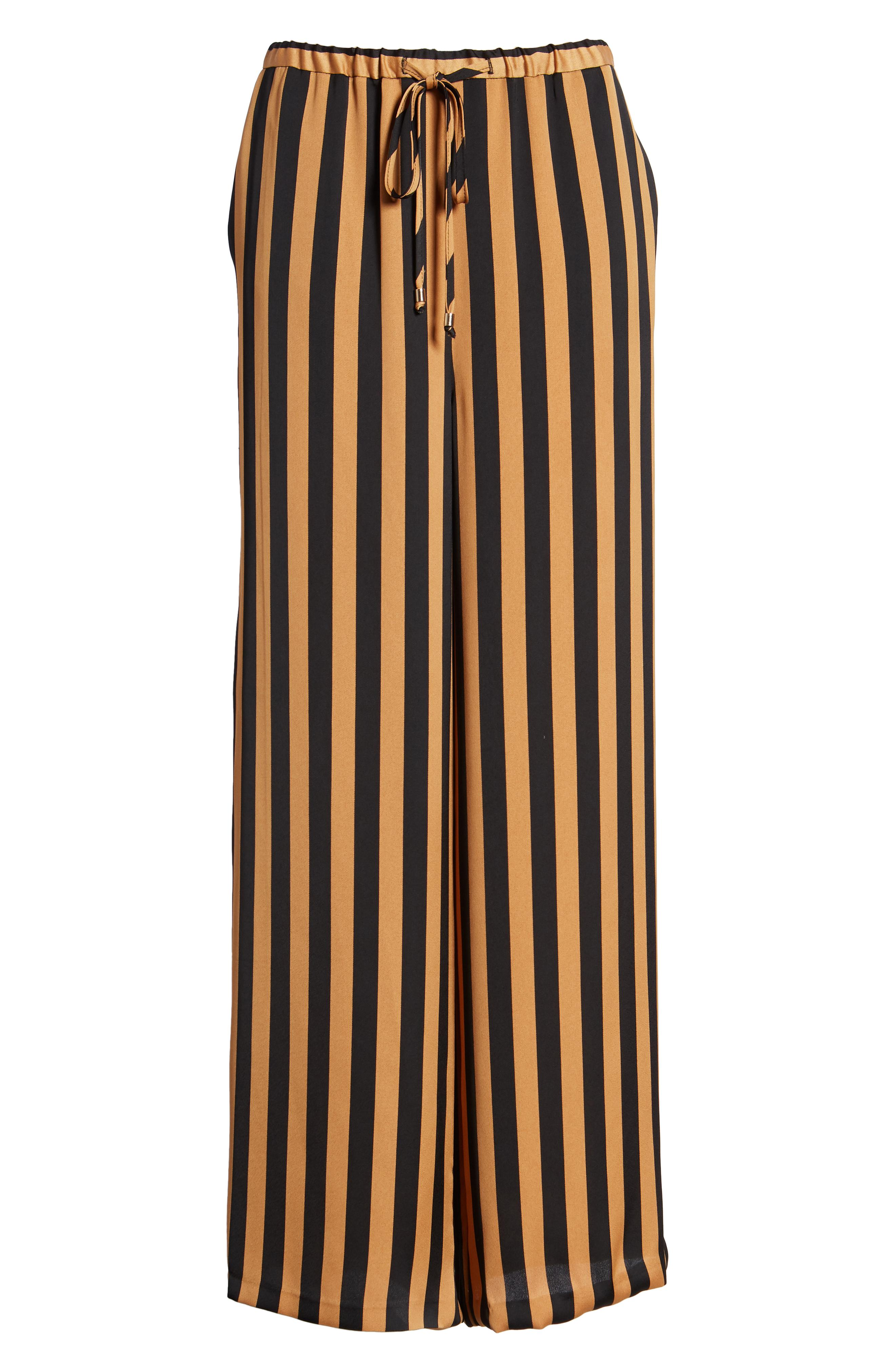 Topshop Soft Stripe Wide Leg Pant -- Sale: $49.90 / After Sale: $85{ }(Image: Courtesy Nordstrom)