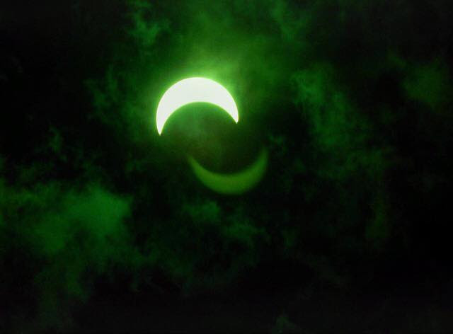 An eclipse photo from Laura Moeller<p></p>