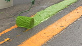 St. Patrick's tradition: Green stripe painted in downtown Syracuse