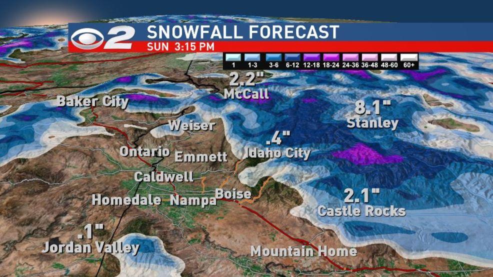 Active weather pattern dominates Southwest Idaho