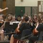 Beyond the Books: Harding orchestra students try hand at hip-hop