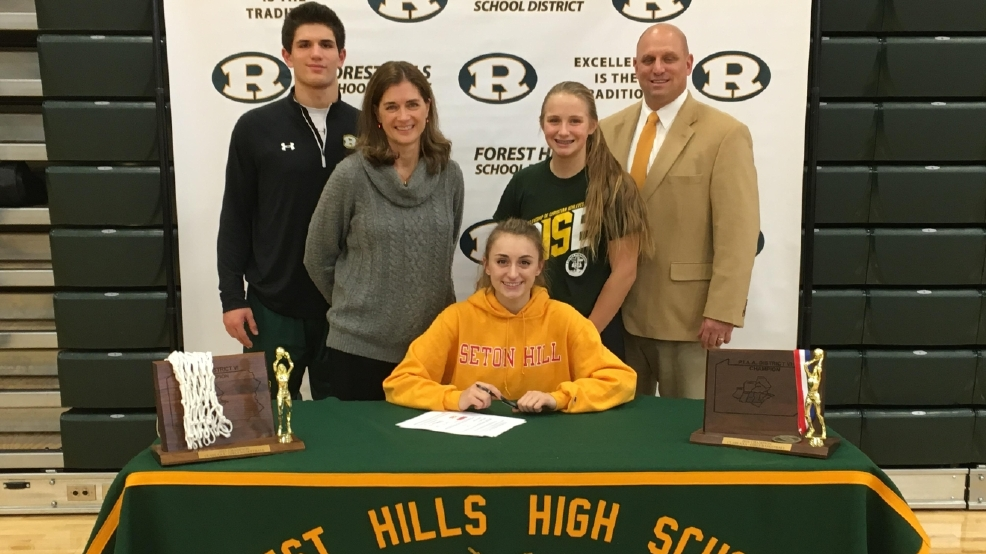 Forest Hills senior Cecere signs with Seton Hill