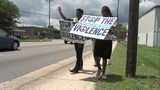 N. Chas. police chief hits the streets in anti-violence march after deadly shooting