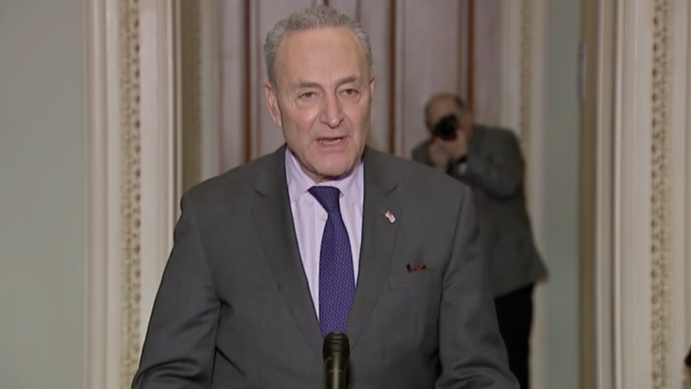 WATCH LIVE: Chuck Schumer speaks following meeting with