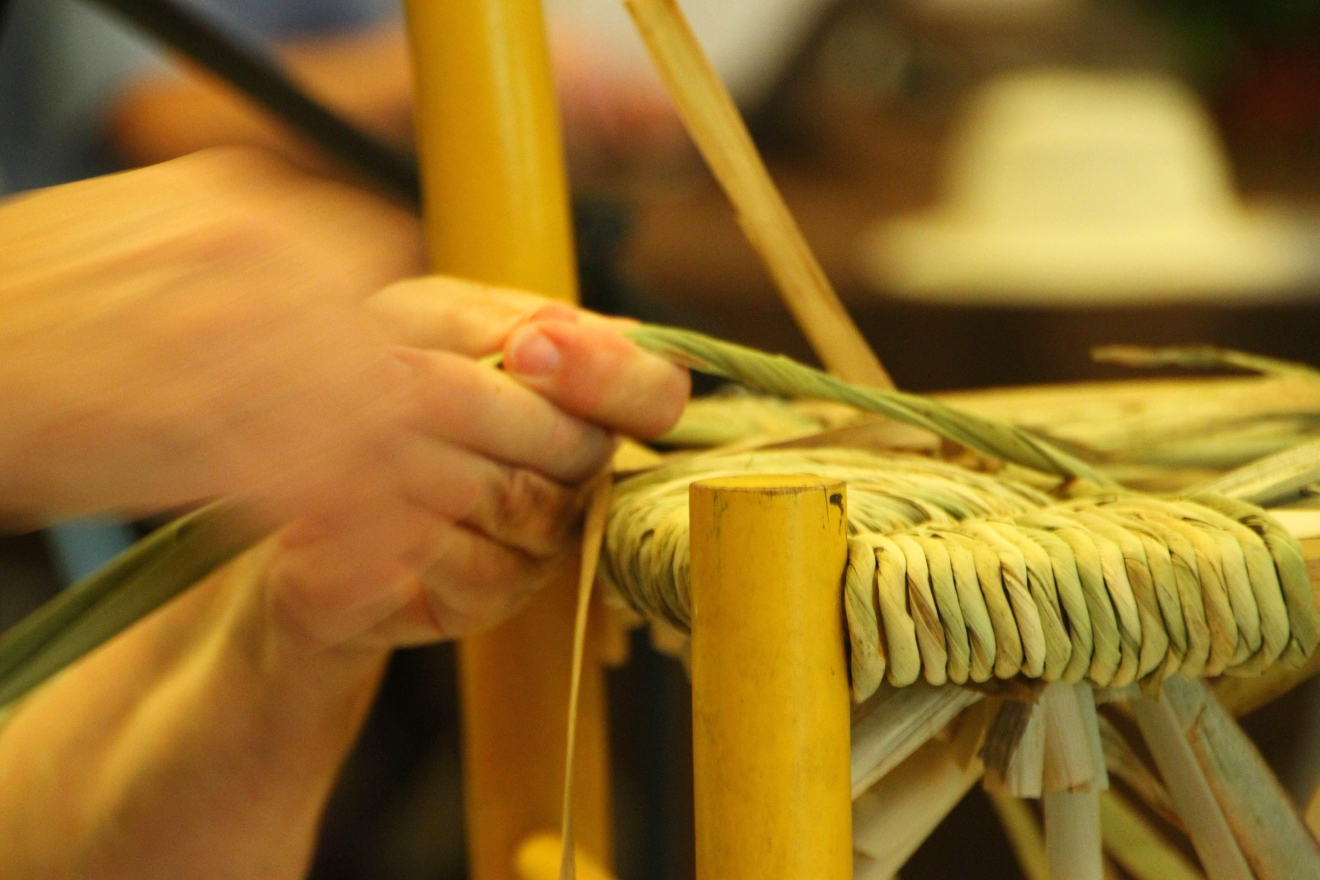 The 9th Annual Gathering of The SeatWeavers' Guild is July 29-31 at the Folk Art Center Auditorium. (Photo provided by: Brandy Clements)