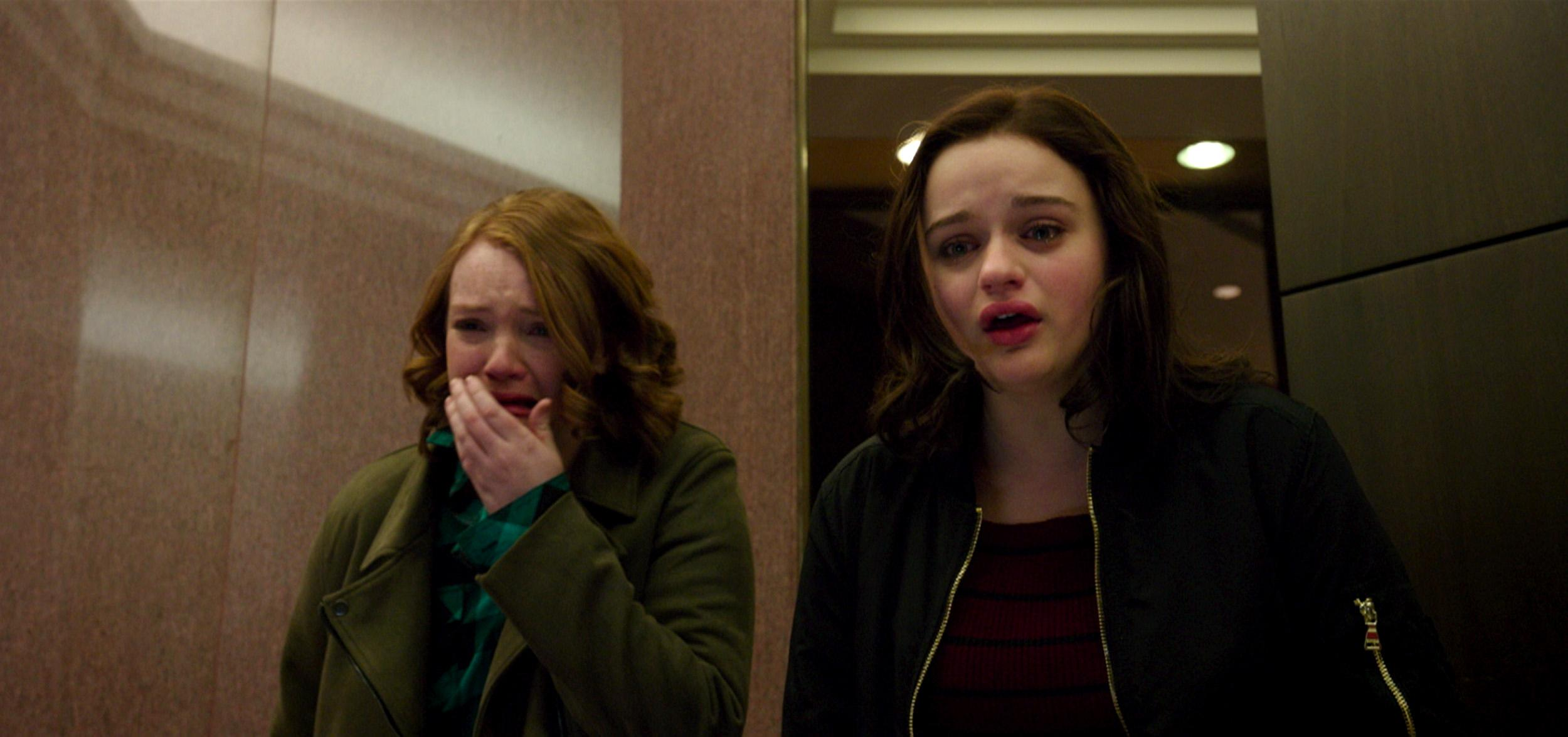 Shannon Purser stars as June and Joey King as Claire in WISH UPON, a Broad Green Pictures release. Credit: Broad Green Pictures