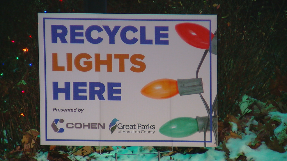 Great Parks offering drop-off recycling locations for broken ...