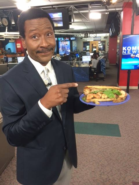Steve and his love for food and the 4pm. (Image: KOMO News)