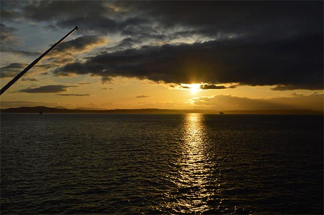 Sunset over Bainbridge Island (Photo courtesy YouNews contributor: gsharri)