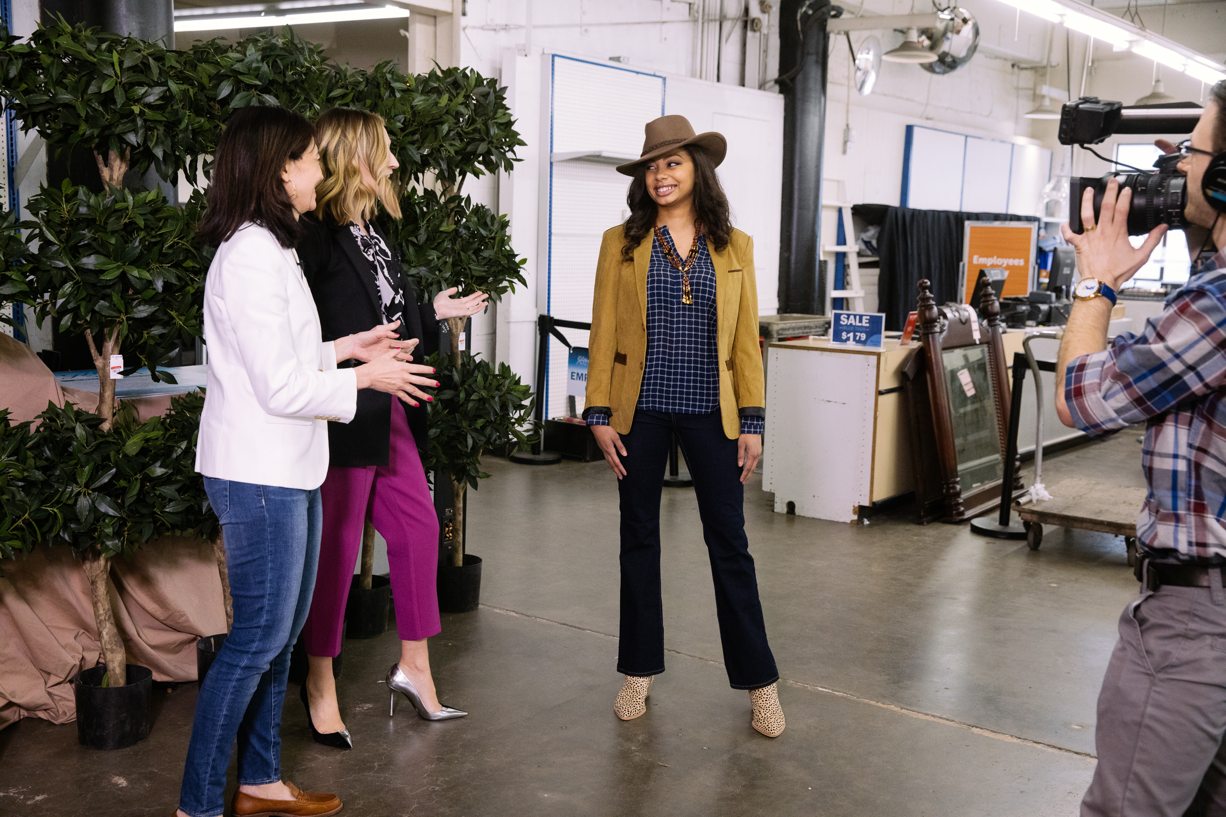 Seattle Goodwill is THE place to score amazing spring looks for less. Darcy Camden from Styled Seattle gave us the scoop on the top four trends for spring and revealed her pro tips for saving even more money while shopping at Seattle Goodwill. (Courtesy Seattle Goodwill)<br>