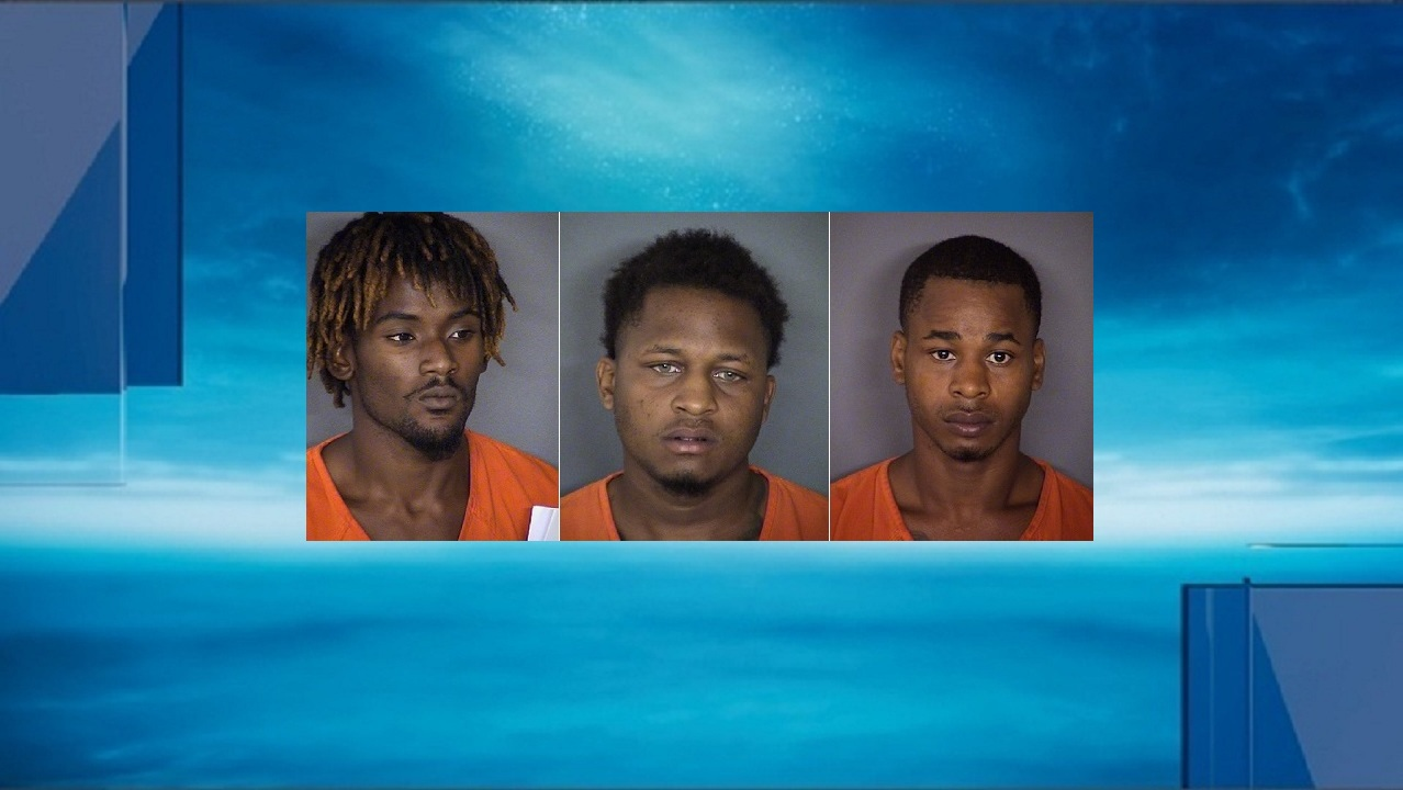 Sexual assault suspects Eugene Hodge (left), Jamal Wolford (center), and Richard Taylor White (right). (Photos: Bexar County Sheriff's Office)