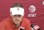 OU-Texas Tech game -  Lincoln Riley OU Offensive Coordinator (KOKH).JPG
