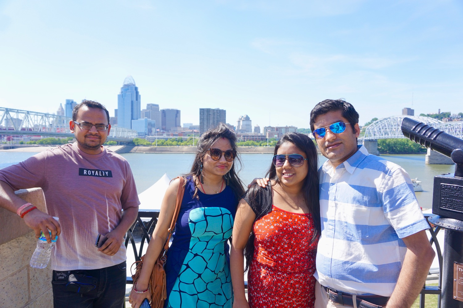 Sneha, Kumar, Manalee, and Roy / Image: Brian Planalp